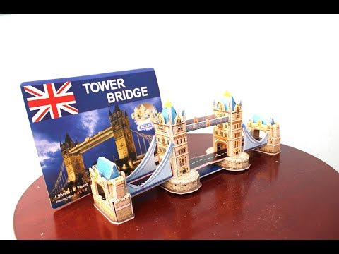 Super Puzzle Of London Bridge In 3D Model