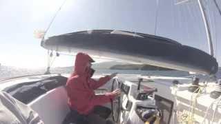 Travesía oceánica en catamarán; Ocean crossing on catamaran