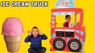 ICE CREAM FOOD TRUCK Kids Pretend Play Cooking Fun With Ckn Toys