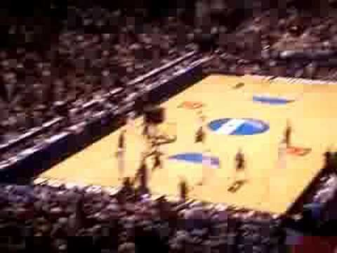 2007 NCAA Elite 8 - UNC tries to win game in regulation