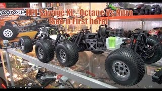 HPI Savage XL Octane vs Nitro See it first here!