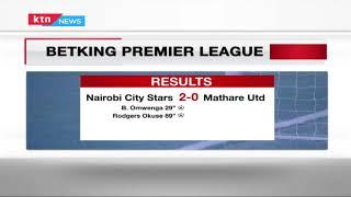 City Stars beat Mathare United 2-0