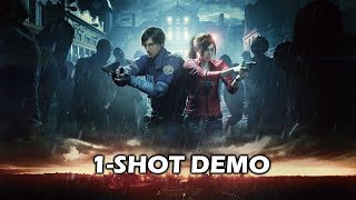 RESIDENT EVIL 2 REMAKE 1-Shot DEMO Gameplay (PC - RTX 2070)