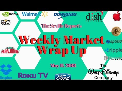 The 4 Minute Stock Market Weekly Wrap Up: May 11, 2018