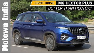 MG Hector Plus | Review | Motown India