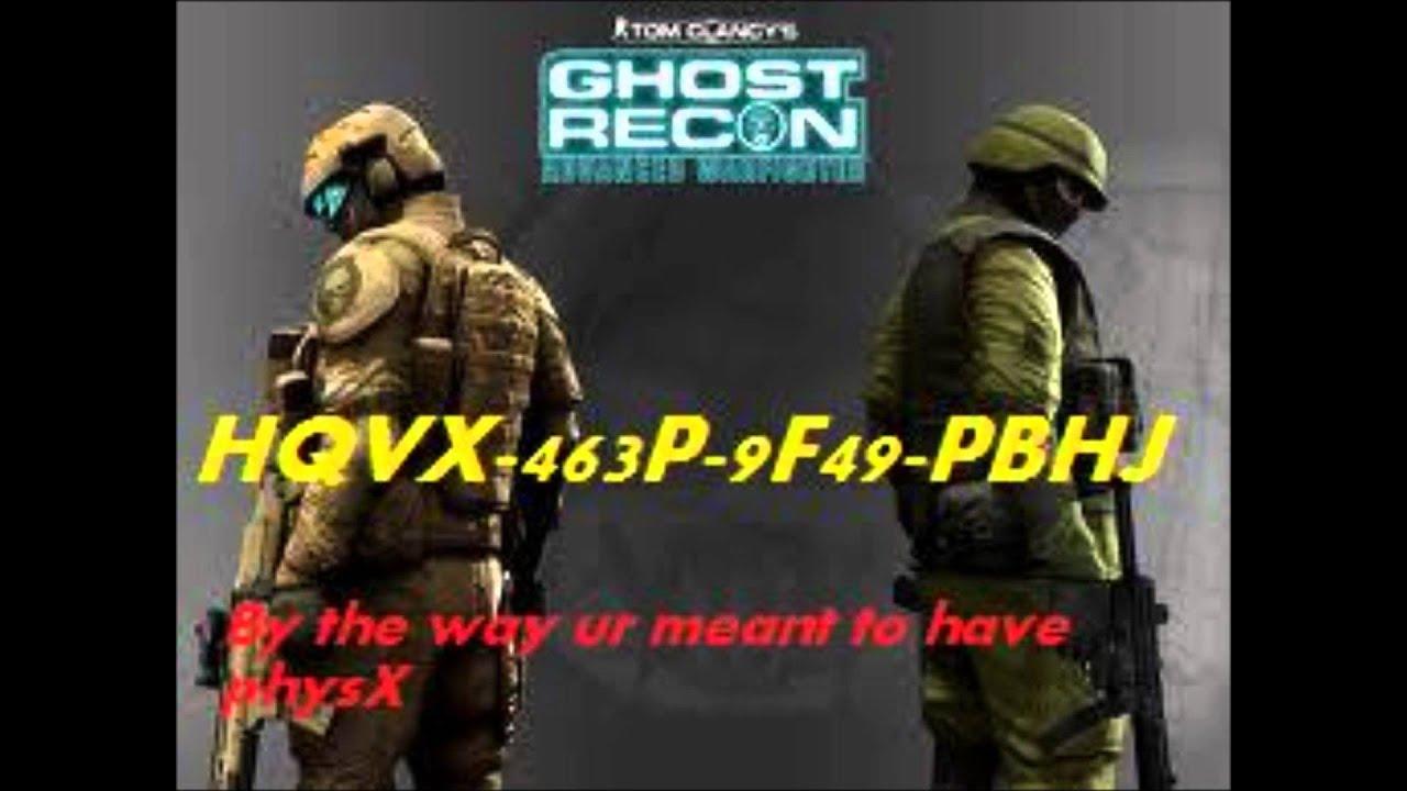 Cd Key Ghost Recon Advanced Warfighter 2 Pc