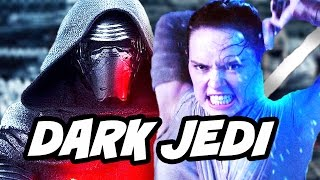 Star Wars Episode 8 The Last Jedi Rey Darth Vader Jedi Scene Theory