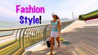 Мода и Стиль/ Модная Летняя Одежда, и МОЯ ЖИЗНЬ на ОСТРОВЕ (KatyaWORLD)
