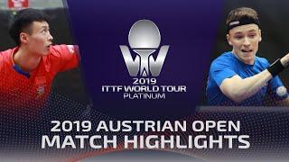 Xu Haidong vs Alexandre Robinot   2019 ITTF Austrian Open Highlights (Pre)