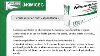 Polimatosato Ferrico + Acido Fólico - Medicamentos Genéricos KIMICEG