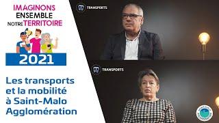 Les transports et la mobilité à Saint-Malo Agglomération