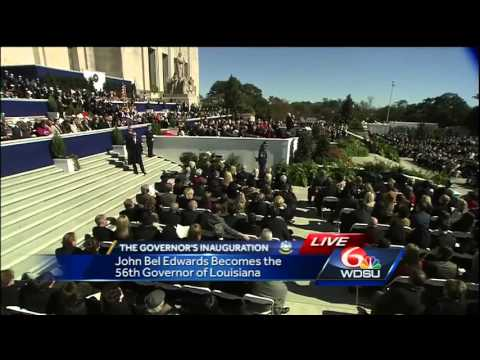Watch: Governor John Bel Edwards delivers inauguration speech