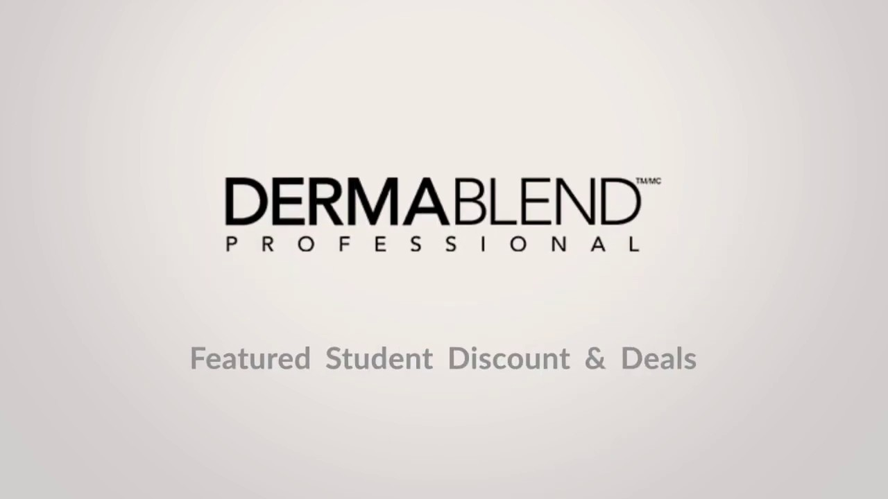 dermablend discount coupon code