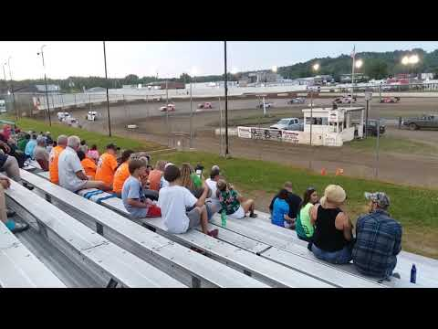 Peoria speedway Modified feature 6/8/19