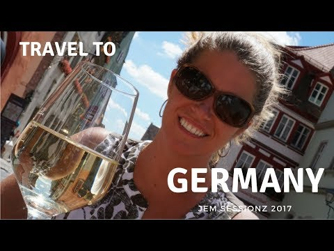 Travel to Rothenburg, Germany | Summer 2017 | Sony A6500 4K