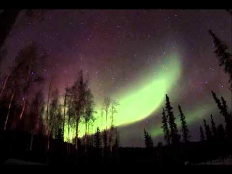 aurora in Two Rivers Alaska