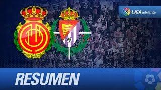 Resumen de RCD Mallorca (1-5) Real Valladolid