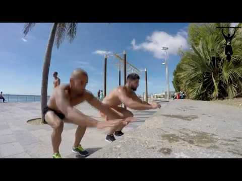 #Gym off Ep. 3 - Beach Workout  - Chest, Leg and abs