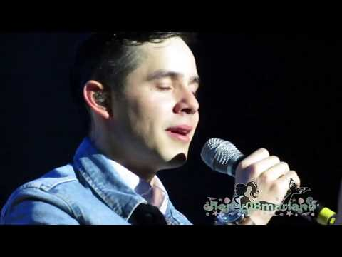 CRUSH - David Archuleta live in Manila [HD]