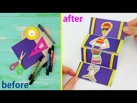 hotel-transylvania-3:-summer-vacation-(2018)-diy-jacob's-ladder-|-origami-toy