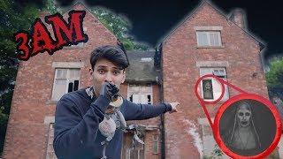 3AM OVERNIGHT CHALLENGE IN THE MOST HAUNTED HOUSE!