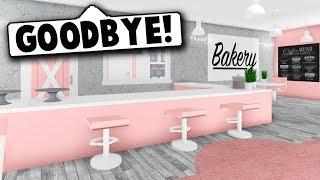 CLOSING DOWN THE BAKERY! (Roblox Bloxburg) Roblox Roleplay