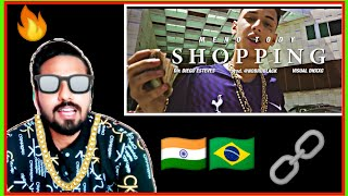 "Indian reaction on Meno Tody ""Shopping"" (Official Video)"