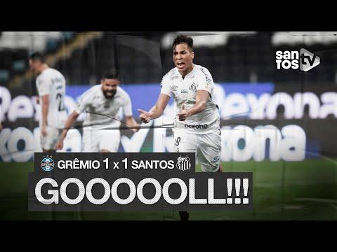 GRÊMIO 1 X 1 SANTOS   GOL   CONMEBOL LIBERTADORES (09/12/20)