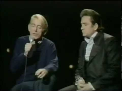 Rod McKuen and Johnny Cash - Doesn't Anybody Know My Name (The Johnny Cash Show 1970)
