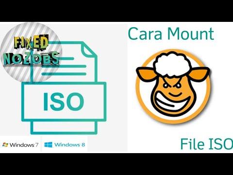 Cara Mount File ISO Di Windows 7 / Windows 8 - YouTube