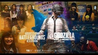 PUBG Mobile X GODZILLA - Nonton bareng gala premier Godzilla : King of the Monsters