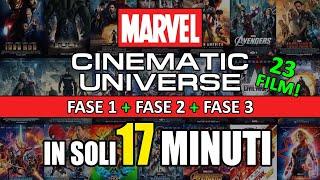 TUTTO il Marvel Cinematic Universe  (23 film!) in 17 minuti!