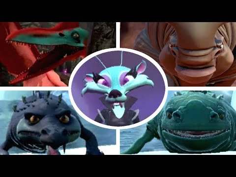 Ice Age: Scrat's Nutty Adventure - All Bosses (No Damage) + Ending