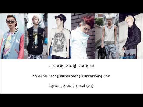 *NEW* EXO-K - Growl (으르렁) [Hangul/Romanization/English] Color & Picture Coded HD