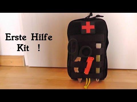 Erste Hilfe Kit / First Aid Kit Vorstellung / Überlebenstraining in der Natur