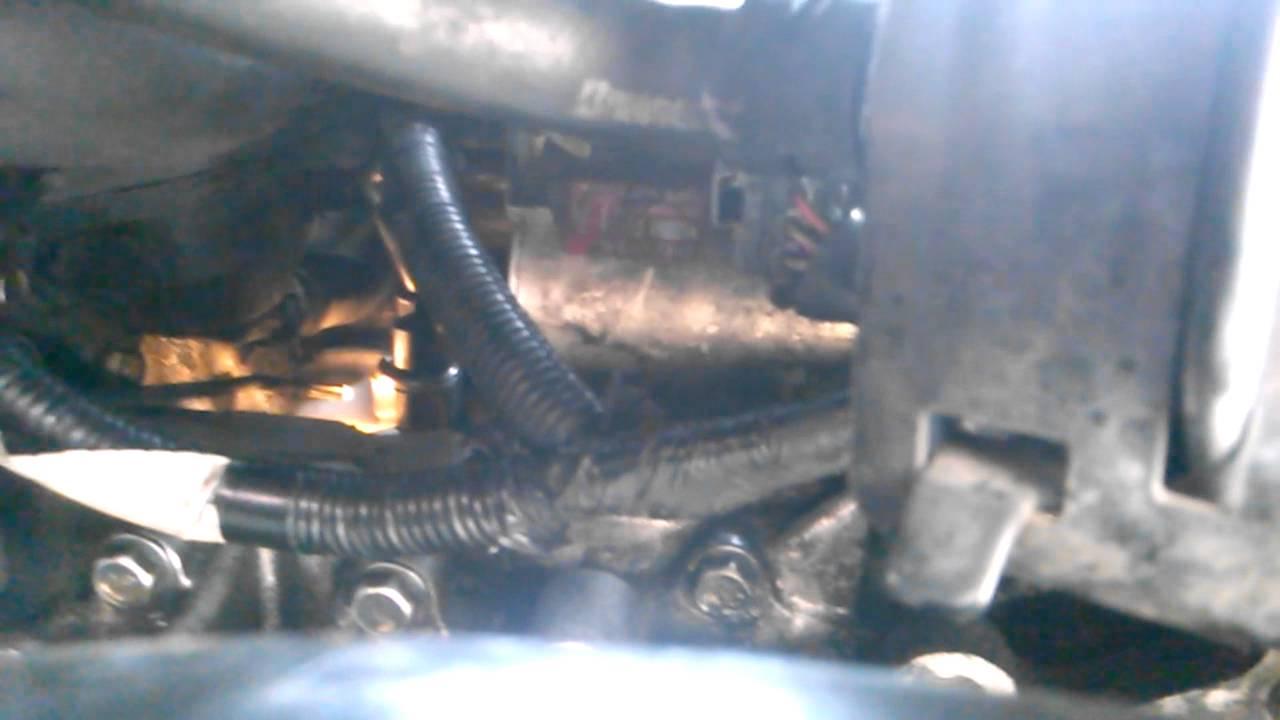 honda crv knock sensor removal  install youtube