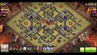 이불킥 Th10 Attack Strategy | AQ Walk + LaLoon by VICTIM (225-34)
