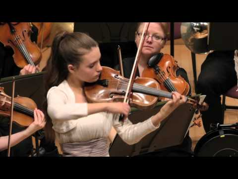 Alexandra Keeley plays Mozart Adelaide Concerto age 12
