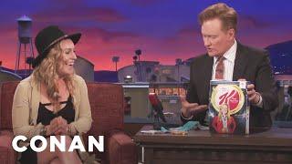 Conan Reveals Jamie Anderson's Kellogg's Cereal Box  - CONAN on TBS