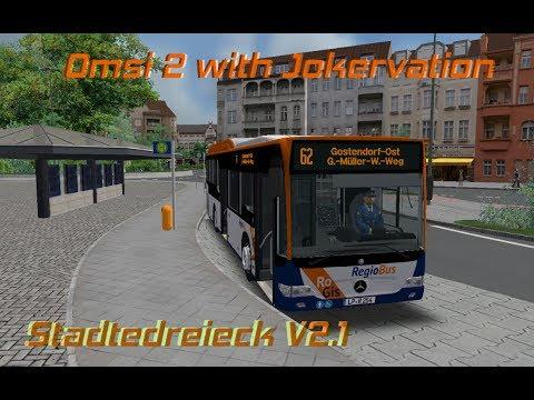 OMSI 2 with Jokervation   Stadtedreieck V2.1   62   Citaro LE