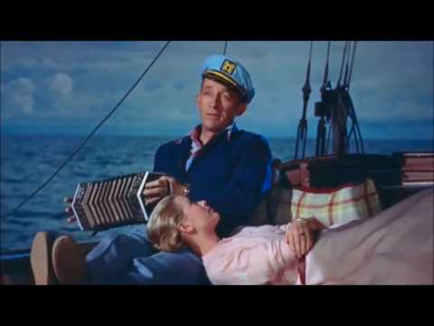 Grace Kelly and Bing Crosby singing in High Society 1956