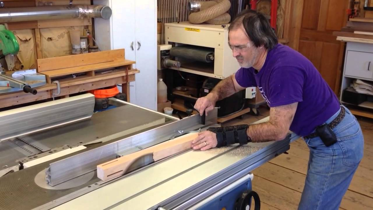 Paul Donio at work making table legs - YouTube