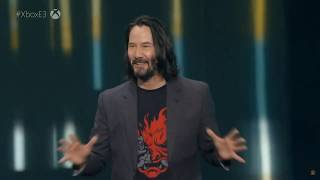 Keanu Reeves Gets a Compliment - The Best Moment of E3 2019