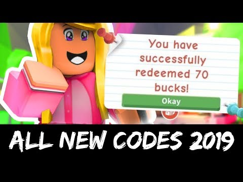 ADOPT ME CODES 2019 | ROBLOX - YouTube