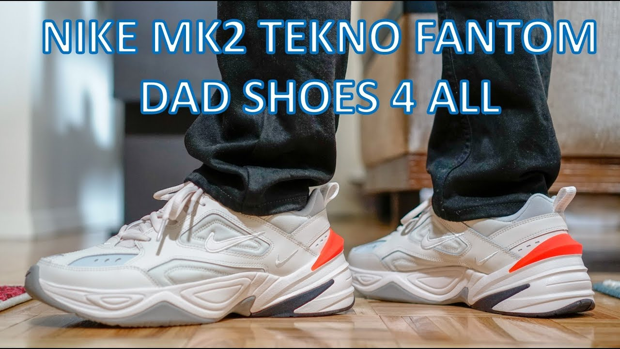9e84297ebd5 REVIEW - A dad shoe for the masses  Nike M2K Tekno - YouTube