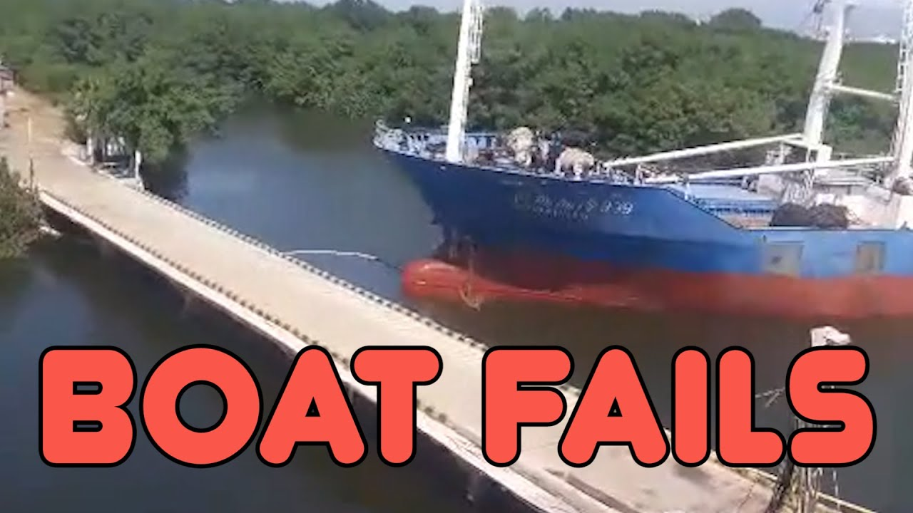 Boat Fails || Funny Videos