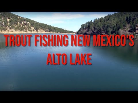 Trout Fishing New Mexico's Alto Lake