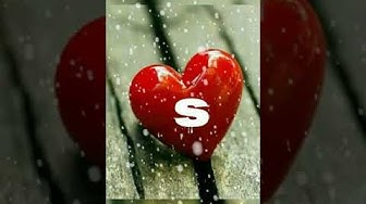 S alphabet letter for loving ones