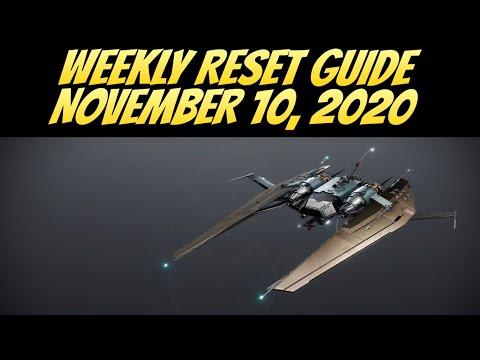 Destiny 2 Beyond Light Weekly Reset Guide, November 10, 2020 (Destiny 2 Season of The Hunt) |