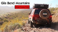 Gila Bend Mtns -- Derailment Site/Hargan Mine Overnighter
